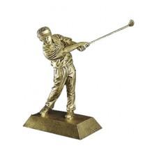 Male Resin Golfer